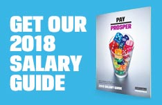 Get our 2018 Salary Guide