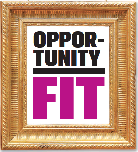opportunity best fit frame