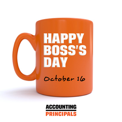 Happy Boss's Day - Accounting Principals